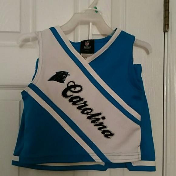 07872cded Toddler Carolina Panthers Cheerleader Outfit. M 5bbdb3969539f7e525afe093